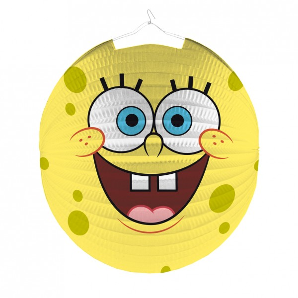 Funny SpongeBob lantern underwater fun