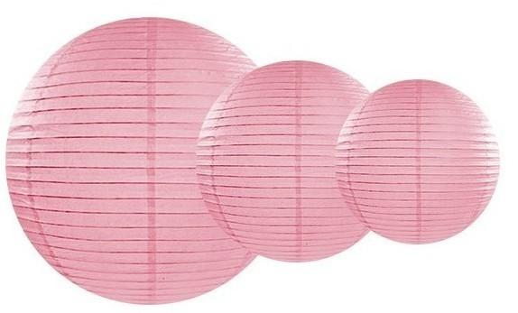 Lantern Lilly pink 25cm