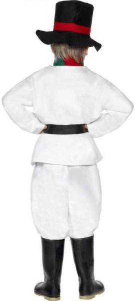 Little snowman child costume 6 pieces