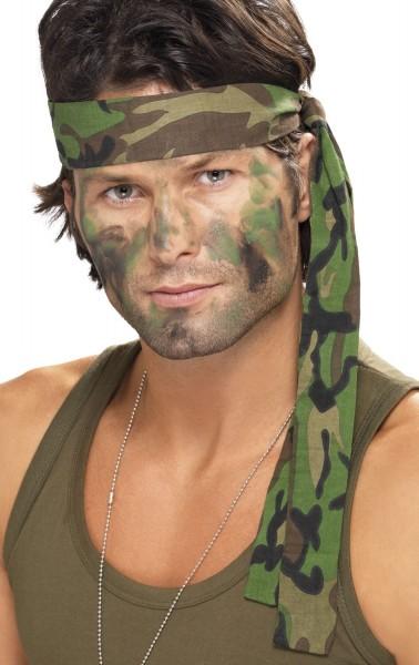 Armee Soldaten Stirnband 150 x 4cm