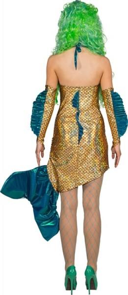 Adria Meerjungfrau Kostüm In Gold Und Blau
