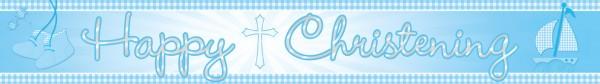 Bandera azul bautismo bendición 4,5 m