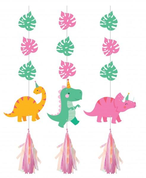 3 Dino Girls Hänger 91cm