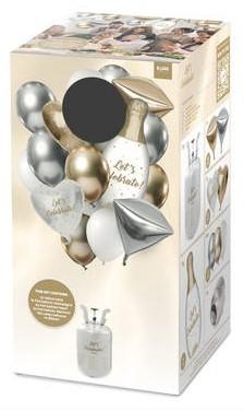 Lets Celebrate Heliumflasche mit Ballons 10
