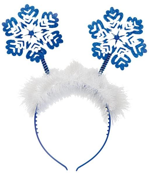 Haarreif Königin der Schneeflocken