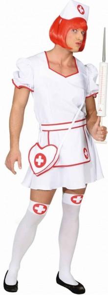 Sexy Krankenschwester Kostüm Für Herren