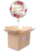 Glückwunsch Folienballon Boho Flowers 45cm