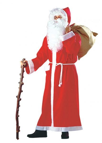 Weihnachtsmann Mantel rot