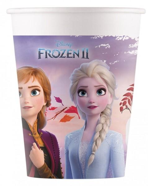 8 FSC Frozen 2 Pappbecher 200ml