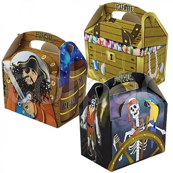 Piratenparty Geschenkbox 15cm