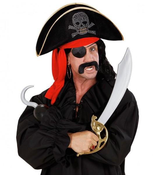 Piratenhut Mit Totenkopfmotiv