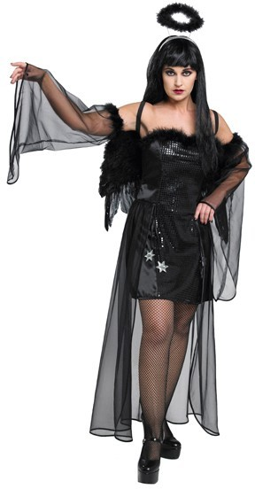 Sexy angel of death costume for women