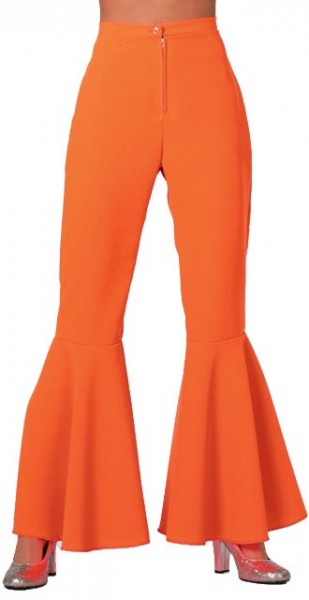 Schlaghose Disco Fever Neon Orange