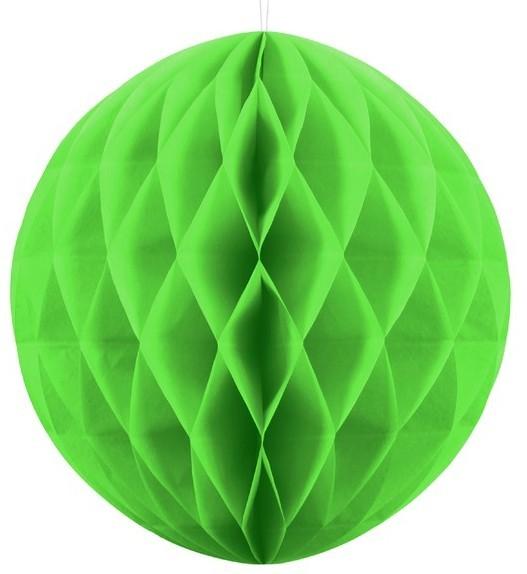 Wabenball Lumina apfelgrün 40cm