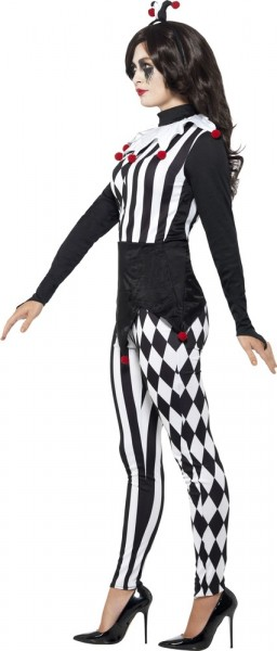 Sig.ra Joker Patterned Ladies Costume