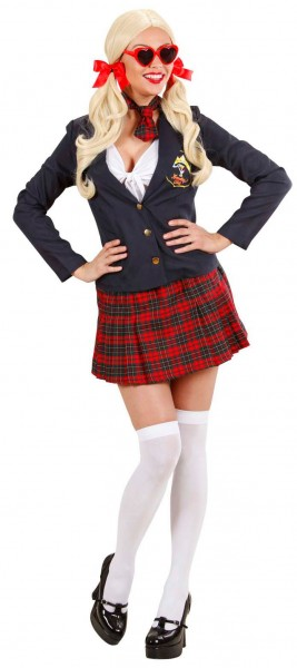 Schoolgirl College Girl Costume Deluxe