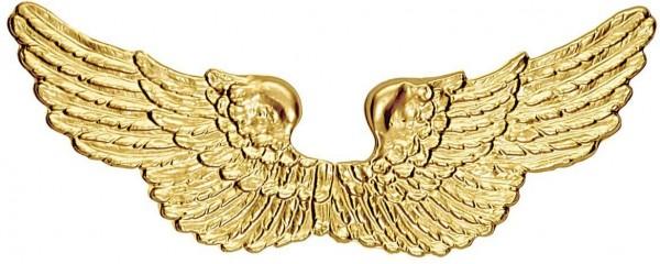 Goldene Engelsflügel Kunststoff 90cm