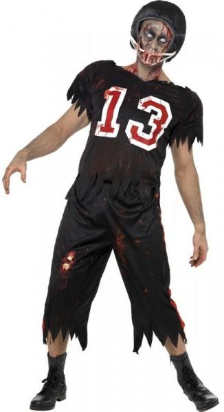 Halloween Kostüm Grusel Untoter Footballer Nummer 13