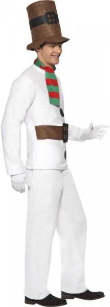 White snowman suit for men
