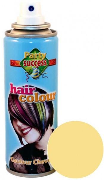 Farbiges Haarspray Blond