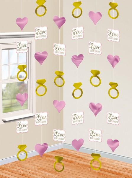 Perchas de decoración Love always & forever