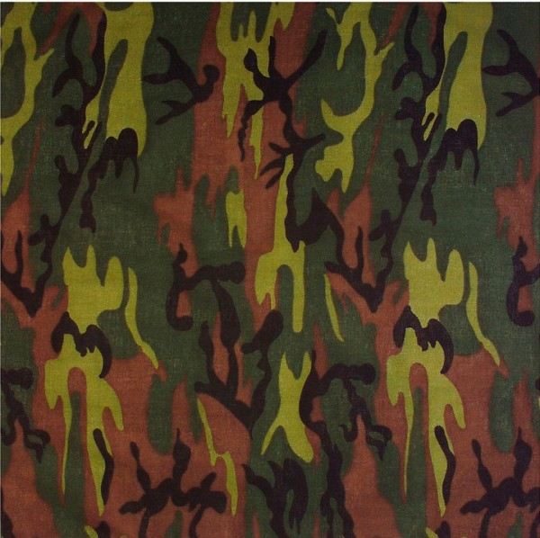 Militär Camouflage Bandana 55 x 55cm