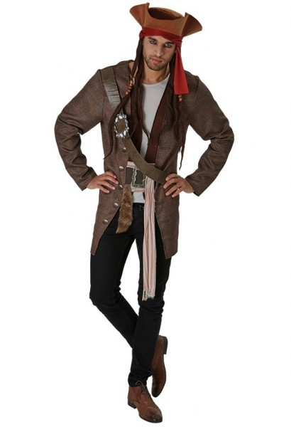 Jack Sparrow Salazars Rache Herrenkostüm
