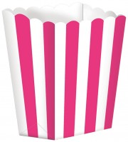 5 Candy Buffet Snack Boxen pink