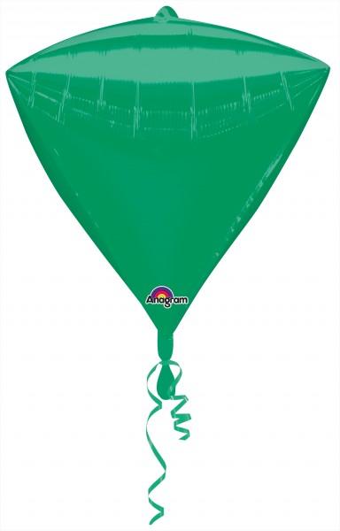 Diamond balloon dark green