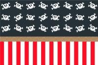Captain Schielauge Piraten Tischdecke 1,8 x 1,2m