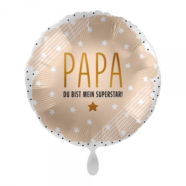 Papa der Superstar Folienballon 43cm