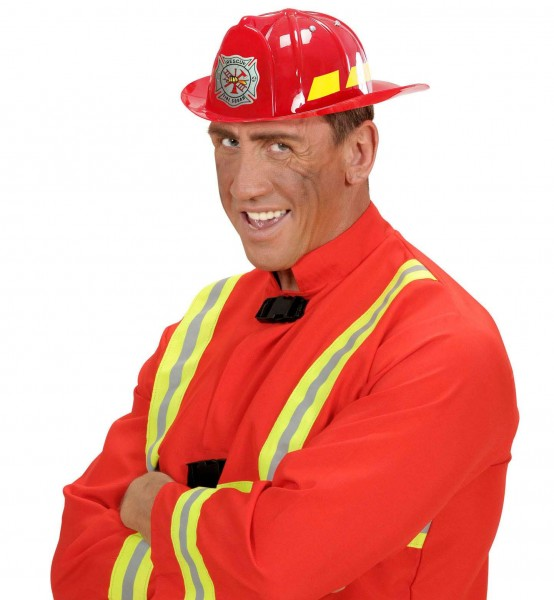 Feuerwehrhelm Rescue Squad Rot Für Erwachsene