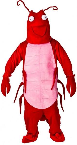 Gekochter Roter Hummer Kostüm