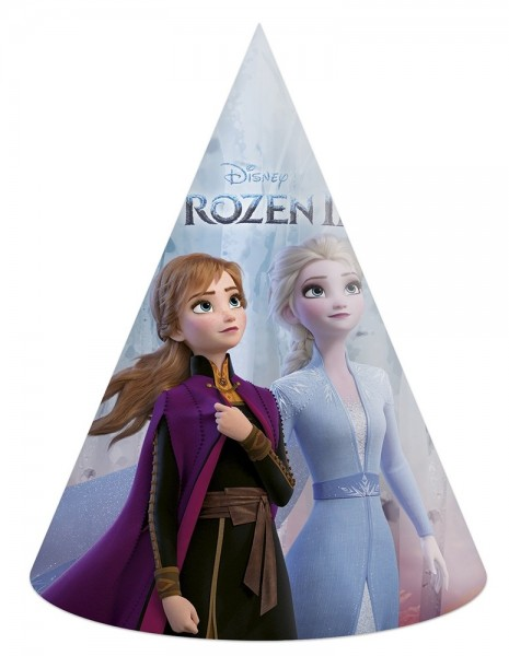 Frozen 2 party hats 6 pieces
