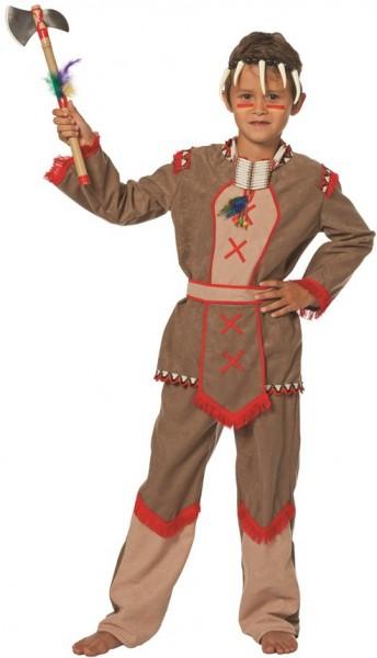Kleine Bärentatze Indianerkostüm Für Kinder 1