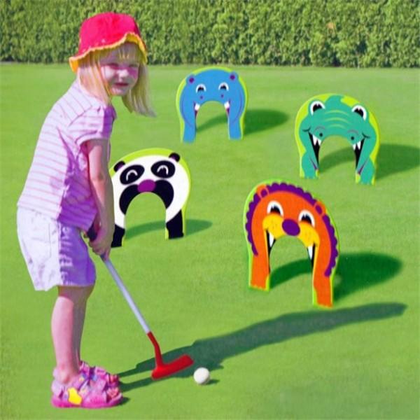 Lustiges Zootier Golf Spiel
