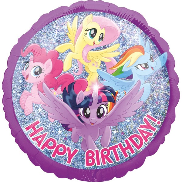 My Little Pony Birthday Folienballon 43cm