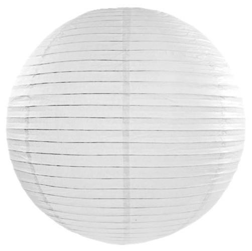 Weiße Papier Laterne 45cm 1