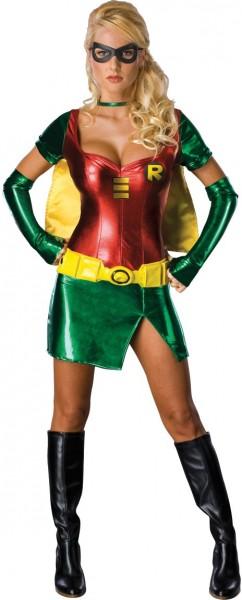 Sexy superhelden kostüm