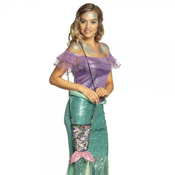 Borsa reversibile con paillettes Sweet Mermaid