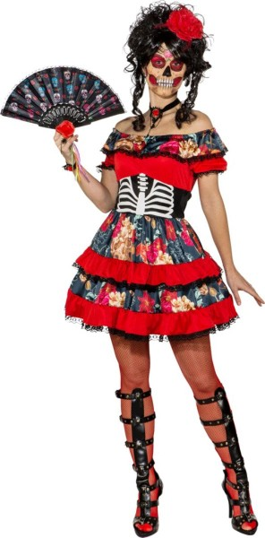 Ruched Alvida scary dress