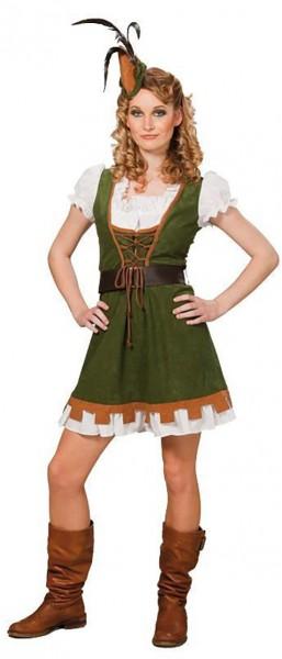 Heldenhaftes Robin Hood Damenkostüm