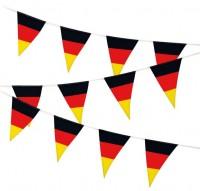 Deutschland Fan Wimpelkette 6m
