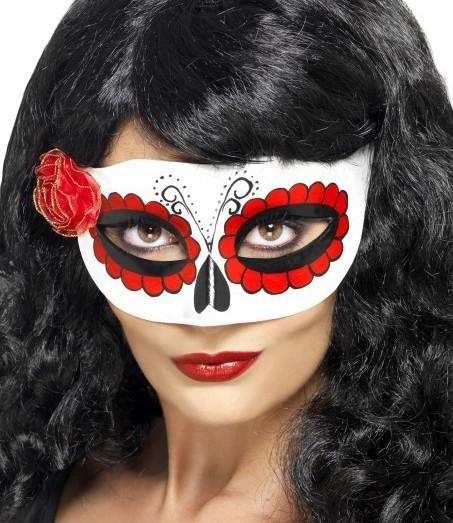 Maske Südamerikanische Totenfeier