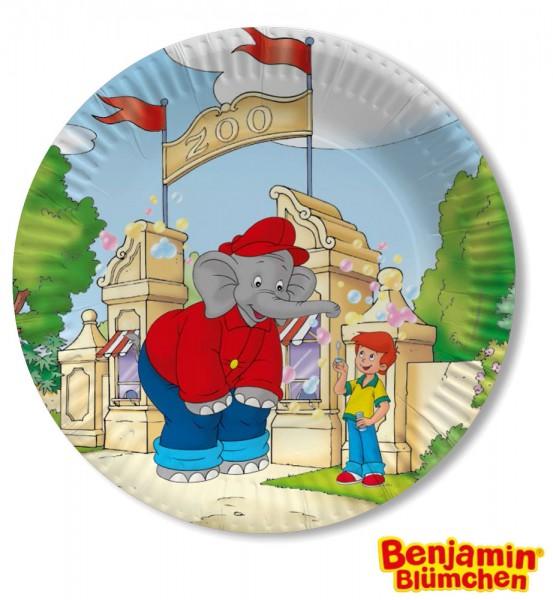 8 Benjamin Blümchen Teller 23cm