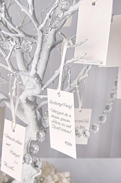 10 cartes arbre de félicitations 4,5 x 8,7 cm
