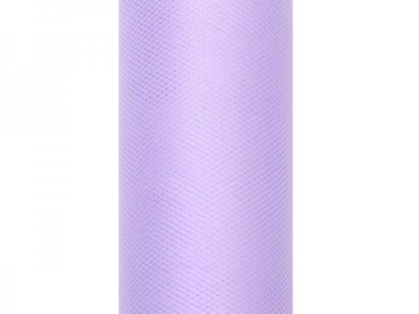 Tüll Stoff Luna lavendel 9m x 30cm