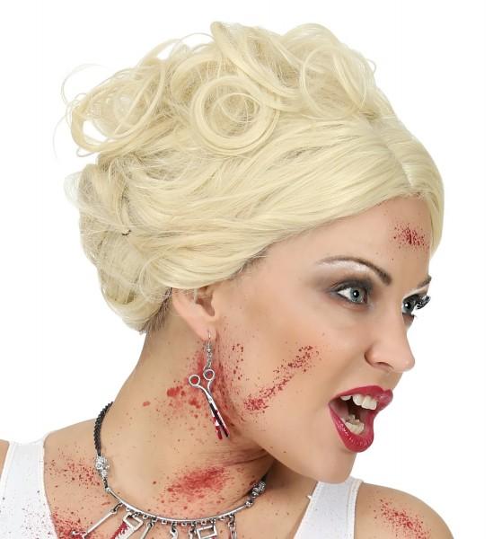 Blutige Scheren Halloween Ohrringe