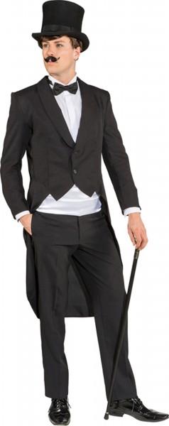 Klassischer Herrenfrack In Schwarz