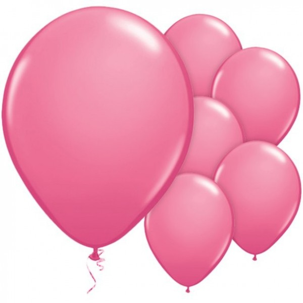25 ballons roses Passion 28cm
